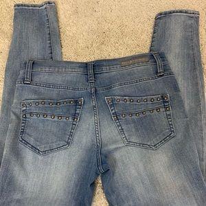Rock & Republic straight leg denim jeans.